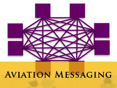 aviation messaging vertical banner