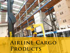 cargo airline products vertical banner