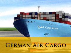 German Air Cargo vertical banner
